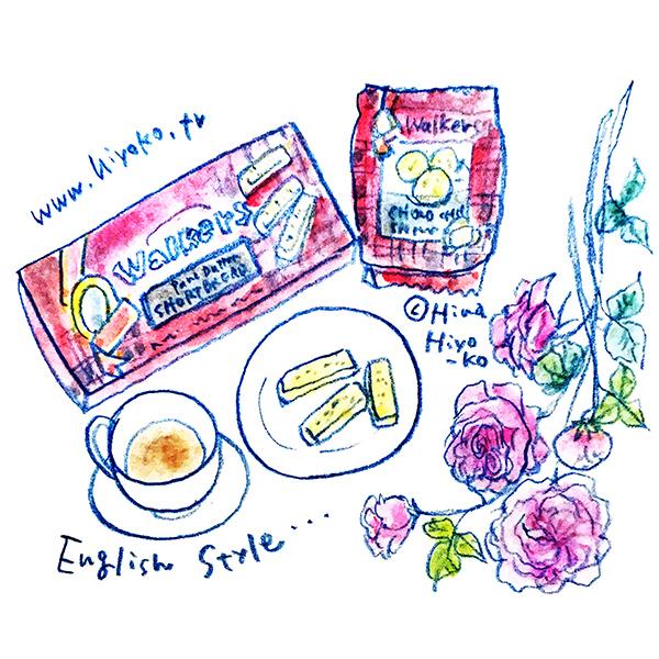 170530walkers ショートブレッド 英国 イギリス クッキー ティータイム イングリッシュローズ オールドローズ