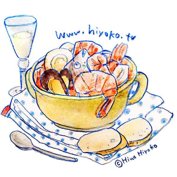 170601魚のスープzuppadipesce イタリア映画 フランス映画 魚介類