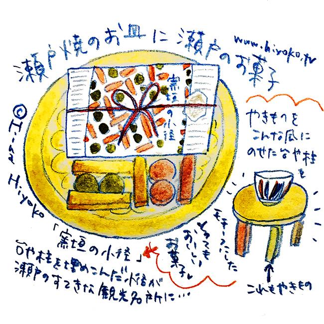 1707831 瀬戸窯垣の小径 焼き菓子 瀬戸本業窯