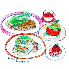 170324フレンチ 野菜 フルコース