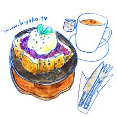 170501喫茶神戸館 鉄板小倉トースト