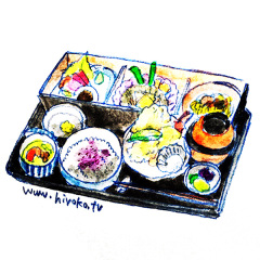 170305和食 定食 天ぷら